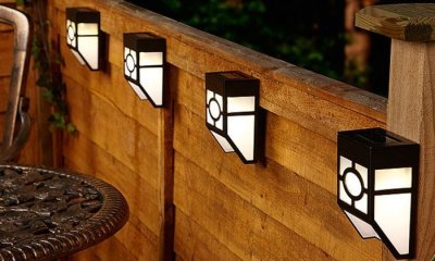 lampy solarne ścienne