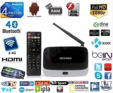 CS918 Q7 ANDROID 4 4 SMART TV BOX 2/8GB KODI - 6194055195