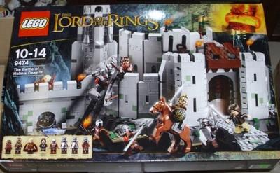 Lego Władca Pierścieni 9474 Bitwa O Helmowy Jar 7001776204