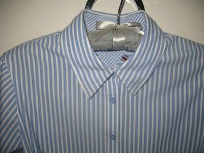 a9afce0d8 Tommy Hilfiger koszula biała niebieska 38 40 - 6779937750 ...