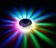PROJEKTOR LED UFO Z FUNKCJĄ ILUMINOFONII W-WA