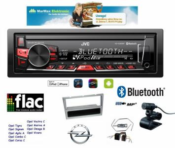 radio jvc kd x320bt bluetooth opel corsa vectra. Black Bedroom Furniture Sets. Home Design Ideas