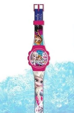Piękny cyfrowy zegarek KRAINA LODU Elza Anna