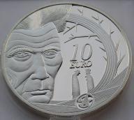 Irlandia 2006r. 10 euro - Samuel Beckett (srebro)