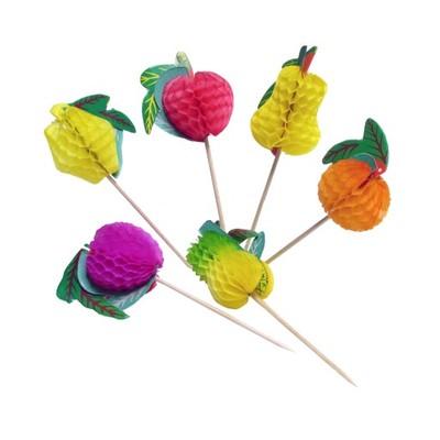 Dekoracja Owoce rozkładane do drinków 10 szt 12 cm
