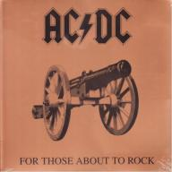 AC/DC - FOR THOSE ABOUT TO ROCK / 180GRAM HQ WINYL