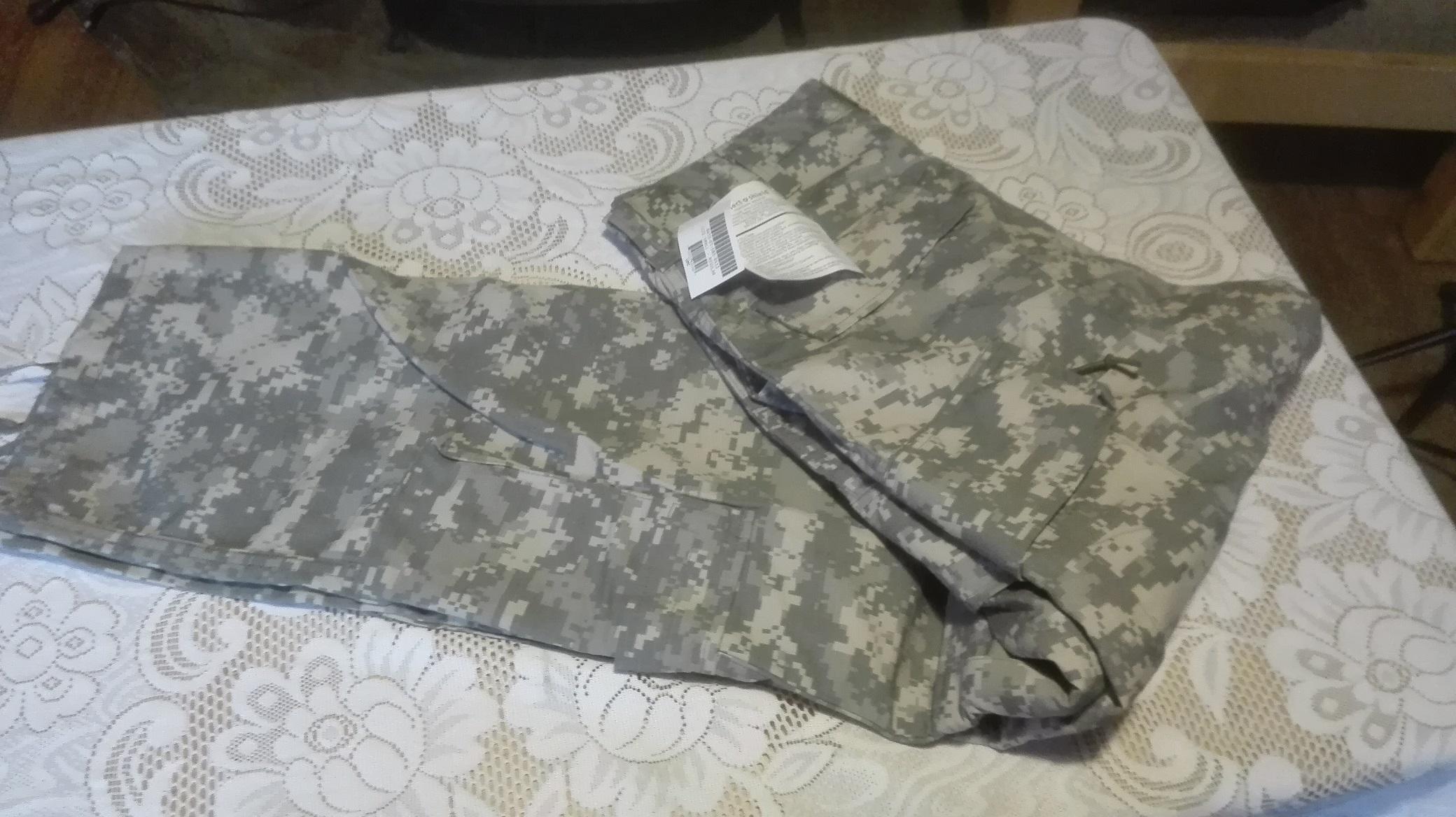 nowe Spodnie USA Army ACU -SR insect guard,kontrak