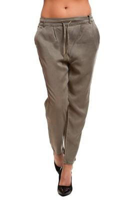 94b81e8d726e Spodnie damskie ONLY luźne chinos baggy r S dł. 30 - 6855364848 ...