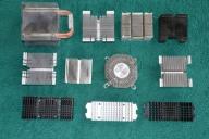 Złom komputerowy RADIATORY 18 procesor 49 karty