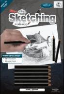 Nauka Szkicowania A5 Rekin + Zestaw Ołówków 24h
