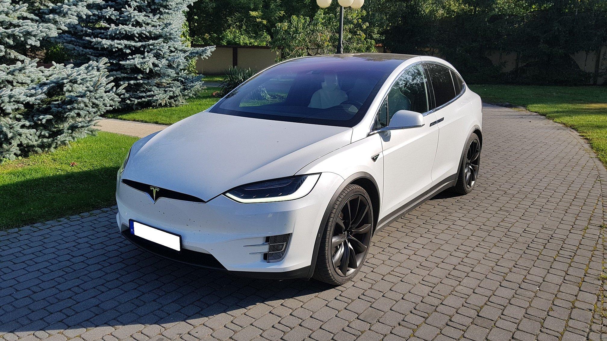 Tesla Model X P90d Autopilot 6 Miejsc 7037151141 Oficjalne Archiwum Allegro