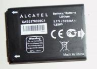 NOWA ORYGBATERIA ALCATEL  Crystal One Touch 103
