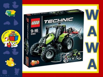 Klocki Lego Technic 9393 Traktor Ciągnik 2w1 Tanio 3629476302