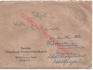 Agencja Kwieciszewo (Mogilno), poczta polowa, 1943