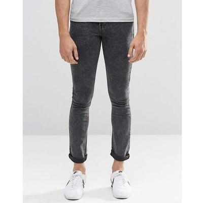 P41 spodnie exASOS jeansy proste skinny r.34