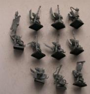 Pestilens - Plague Monks x10 - zestaw nr 20