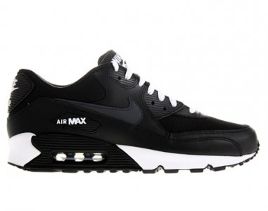 air max czarne skóra
