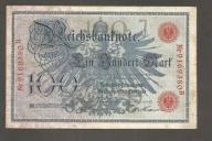 NIEMCY - 100 marek 1908 rok.