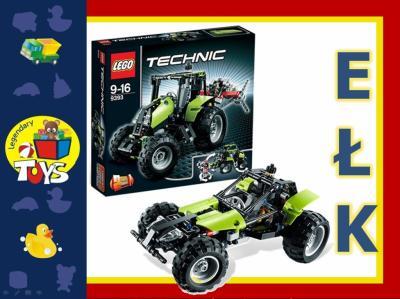 Klocki Lego Technic 9393 Traktor Samochód 2w1 Hit 2669051869