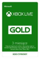 XBOX LIVE GOLD 3 MIESIACE AUTOMAT 24/7 PROMOCJA