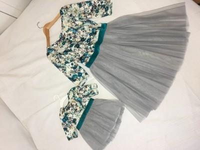 Sukienka Dla Mamy I Córki Takie Same Wesele 6787124220 Oficjalne