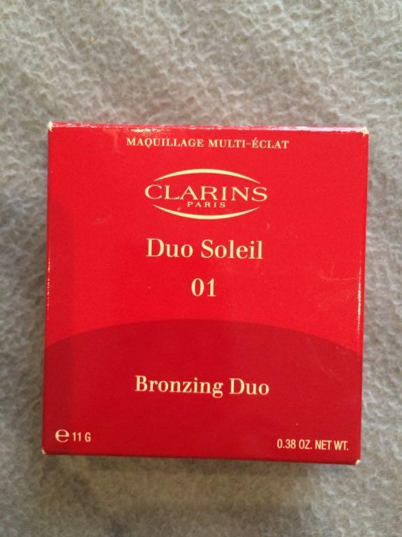 Clarins bronzer 01 duo soleil