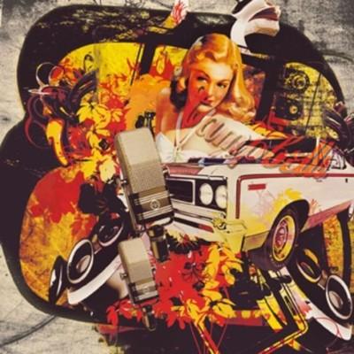 Cassie`S Car - plakat obraz 70x70cm /09830