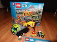 Lego CITY 60122 Łazik Wulkaniczny kpl.