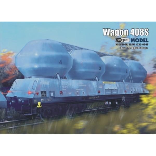 Wagon 408S Angraf Model 1:25