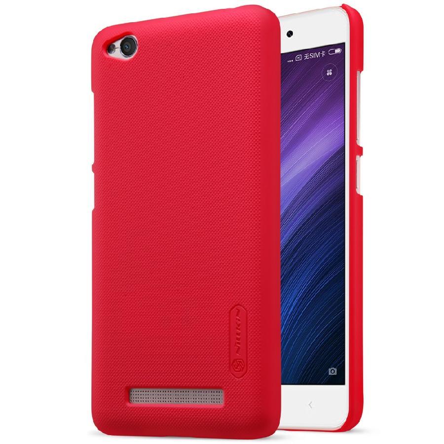 NILLKIN Frosted dla Xiaomi Redmi 4A, czerwony