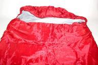 Zwężający się śpiwór jak NOWY RED ciepły BIWAKI940