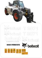 Bobcat T3071 naklejki, naklejka