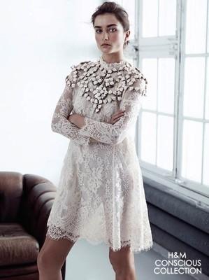 9192cca7a8 Conscious HM H M sukienka koronka studio zara - 6991067331 ...