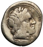 Rzym - Republika AR-denar anonimowy 86 r. p.n.e.