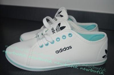 białe trampki damskie adidas