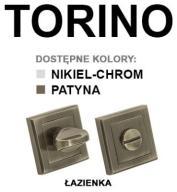 Szyldy Torino Alubrass- WC