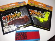 Twister KONGER TROKER x 2 40szt 3.5 cm zestaw