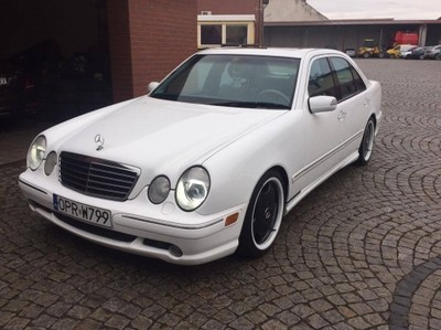 Mercedes E55 Amg Lift 364km W210 Usa Firnweiss 6737471068 Oficjalne Archiwum Allegro