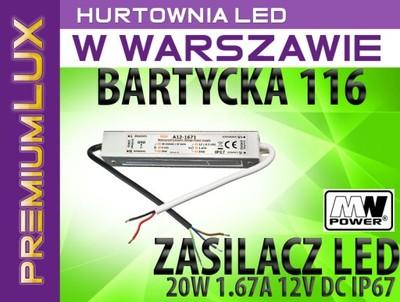 Zasilacz 20w 12v Dc 167a Ip67 Warszawa Bartycka
