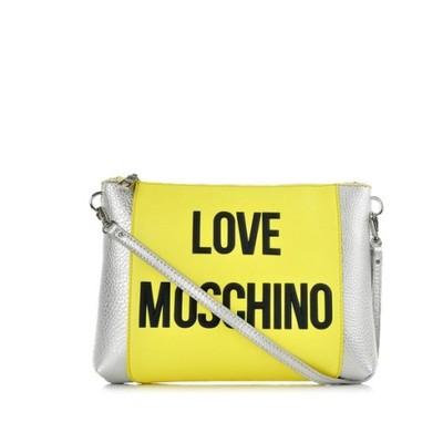 eaad18d5b7cc4 70% Love Moschino mała torebka na ramię żółta - 6543259690 ...