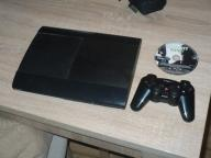 konsola ps3 playstation 3 super slim 500 gb pad