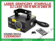 LASER GRAFICZNY STAIRVILLE DJ LASE 150-R MK-III