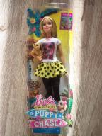 Lalka Barbie z pieskiem DMB26