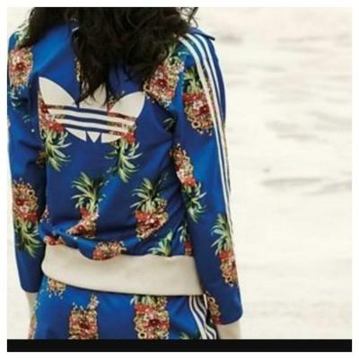 Adidas bluza w ananasy