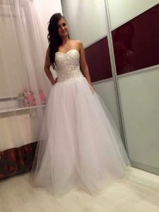 Piękna nowa suknia ślubna princess