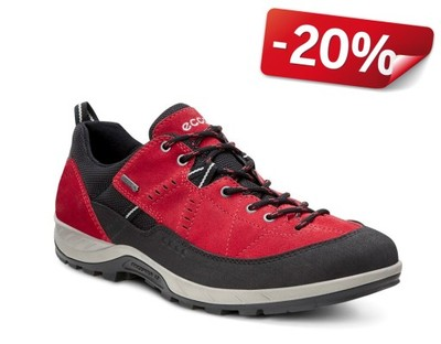 ECCO YURA black red GTX r.45 20% SALE