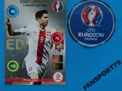 Karta Euro 2016 Limited Classic Robert Lewandowski 6230556616 Oficjalne Archiwum Allegro