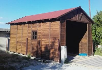Garaż Drewniany 42 M X 7 M Wysokość 3 M Na Busa 6875821002