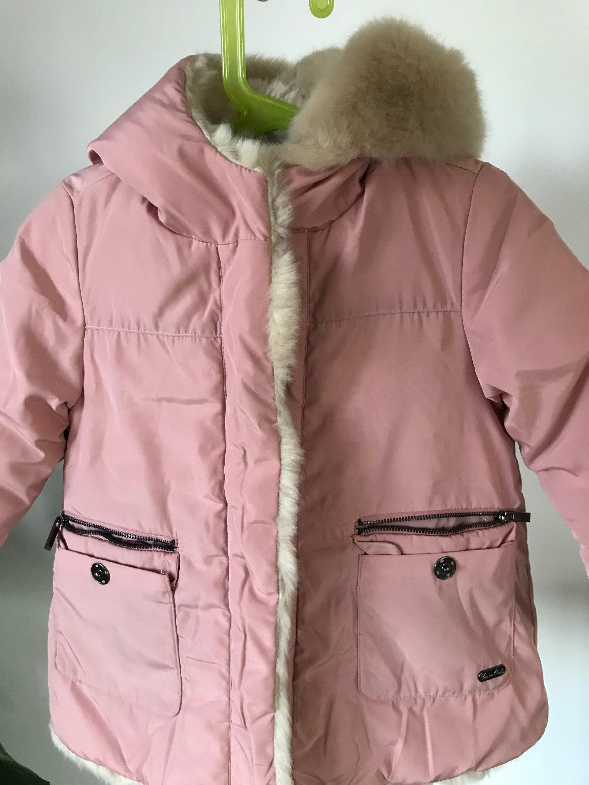 kurtka rozowa zara zimowa