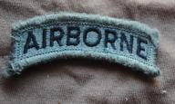 naszywka USA acu upc łuczek AIRBORNE velco